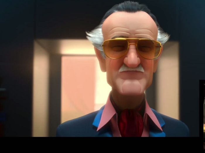 Stan Lee cameo di film Big Hero 6