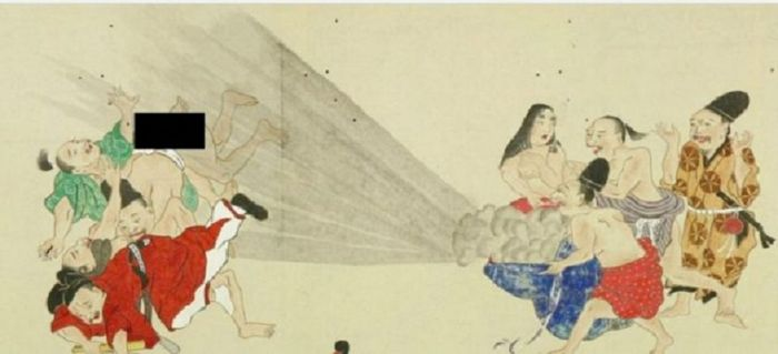 Seni He-gassen Jepang telah didigitalkan oleh Perpustakaan Universitas Waseda