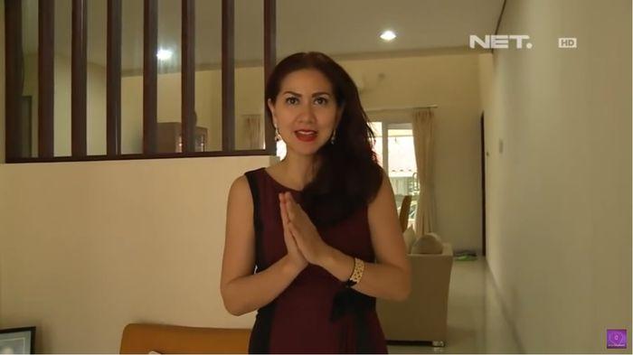 Venna Melinda di Rumah dinas
