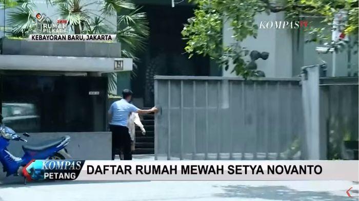 Rumah Setya Novanto di Kebayoran Baru