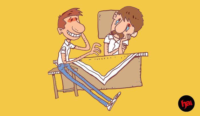 Ilustrasi Guru BK Di sekolah
