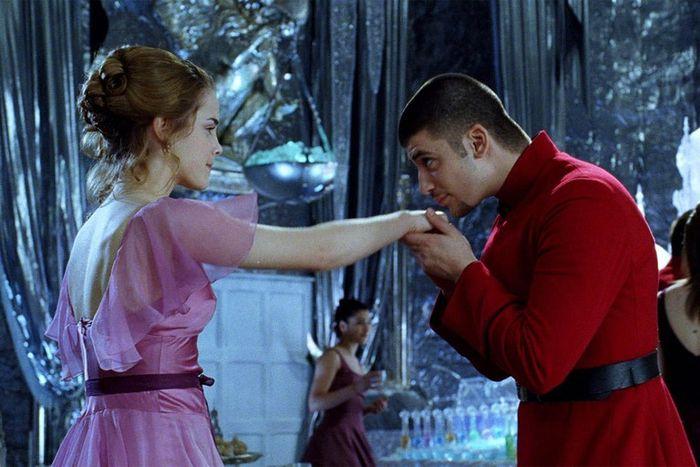 Hermione Granger dan Viktor Krum