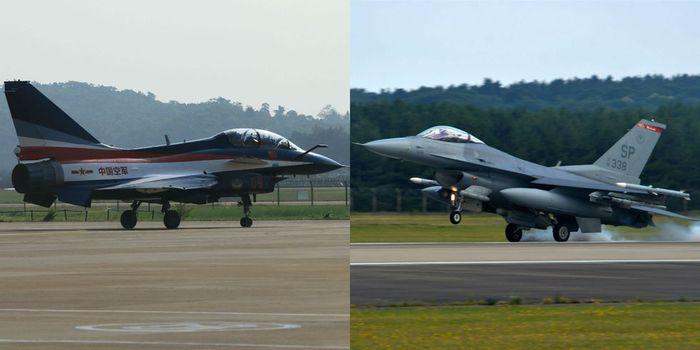 Chengdu J-10 yang mirip F-16
