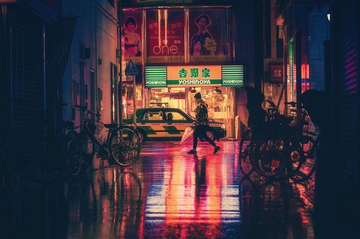 Sudut kota di Jepang