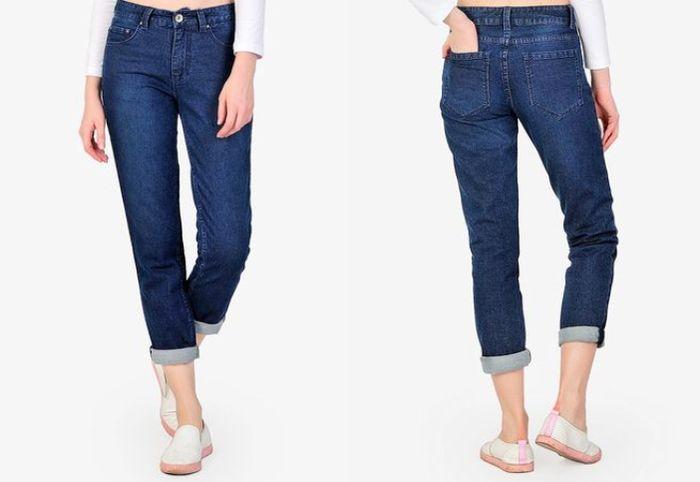 Celana denim dari SJO's Manata Navy Women's Jeans