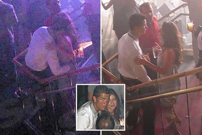 Ronaldo sedang berdansa dengan Kathryn Mayorga