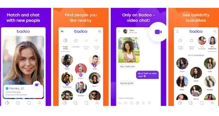 Aplikasi Chatting Badoo