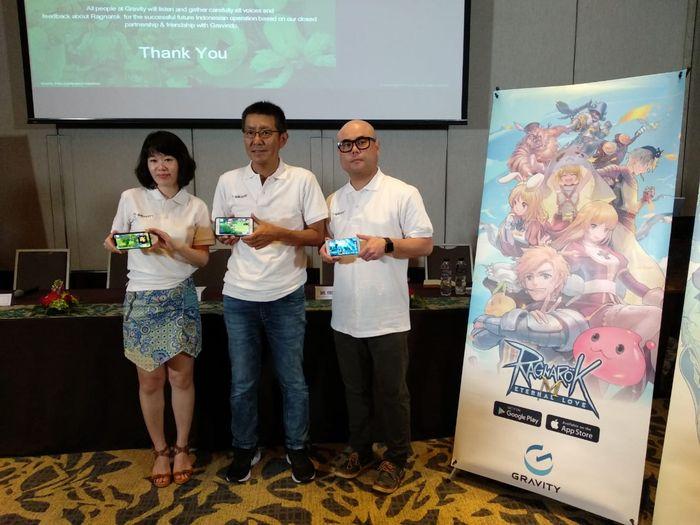 Konferensi Pers Ragnarok M: Eternal Love di Hotel Sheraton Gandaria City, Jakarta (4/10)