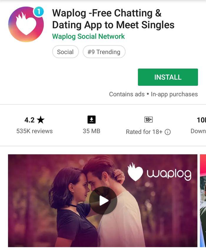 Aplikasi Chatting Waplog