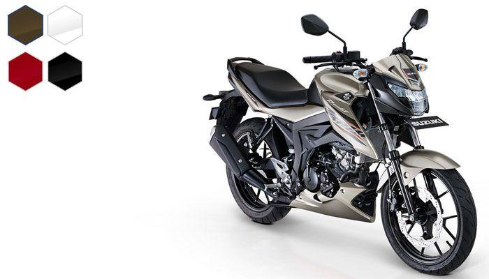 Pilihan warna Suzuki GSX150 Bandit
