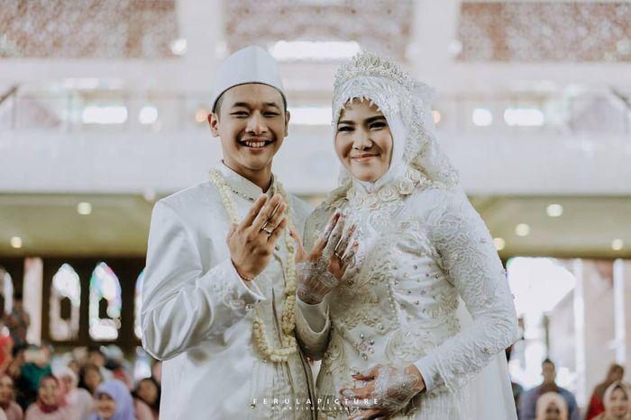Hanifan Yudani dan Pipiet Kamelia menikah 3 Okotober 2018
