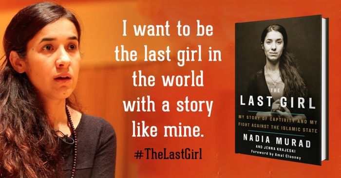Nadia Murad dan bukunya