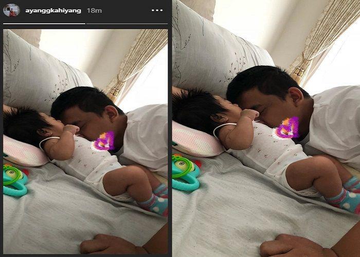 Potret Kasih Sayang Bobby Nasution ke Putrinya, Sedah Mirah, yang diunggah oleh Kahiyang Ayu