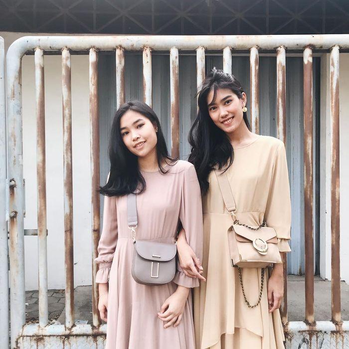 Fashion kompak ala Alika dan Kalya Islamadina
