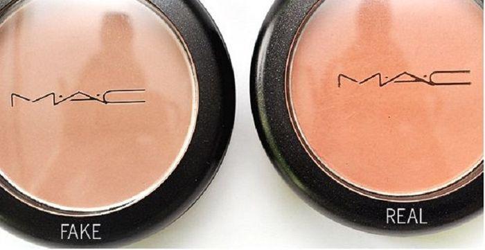 perbandingan makeup asli dan palsu