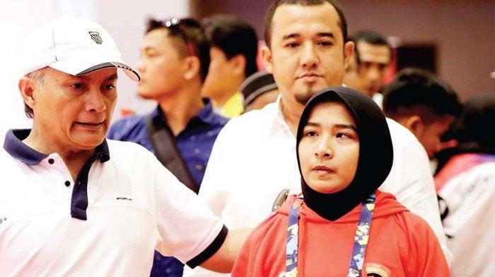 PEJUDO asal Aceh, Miftahul Jannah meninggalkan arena usai didiskualifikasi dari Asian Para Games 201