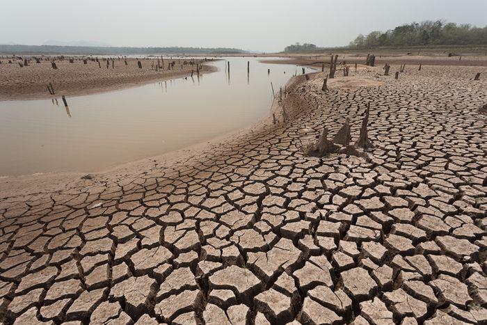 Kekeringan banyak terjadi sebagai dampap perubahan iklim