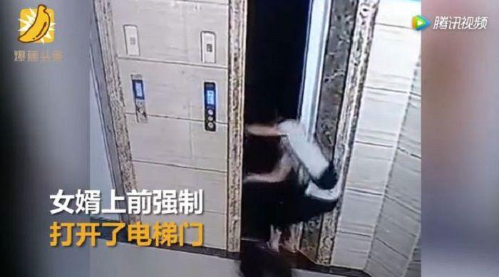 Insiden tragis di lift.