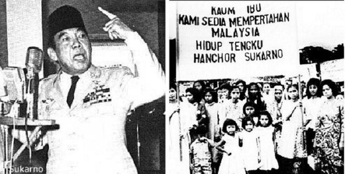 Inggris telah mengakui kemerdekaan Malaysia pada 1963