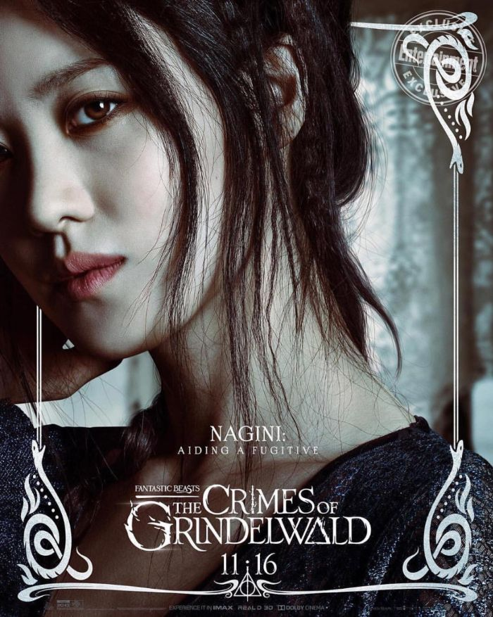 Claudia Kim di Fantastic Beasts: The Crimes of Ginderwald