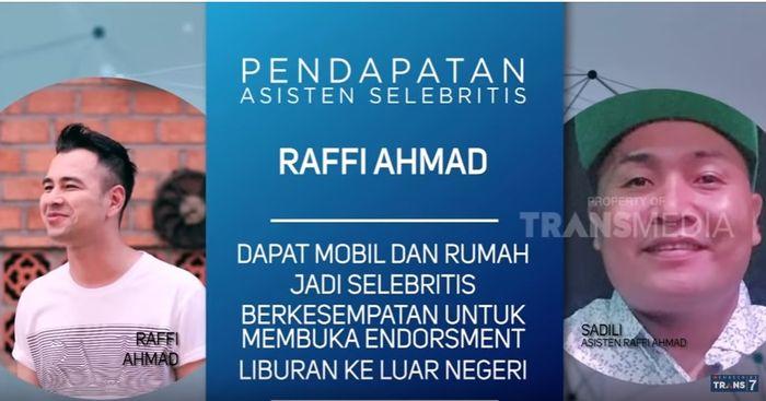 13 Tahun Mengabdi Jadi Asisten Raffi Ahmad, Merry Terima Gaji Puluhan Juta, Mobil dan Endorsement
