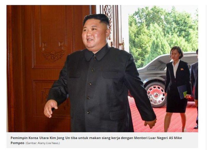 Kim Jong-Un dan penampakan mobil mewahnya