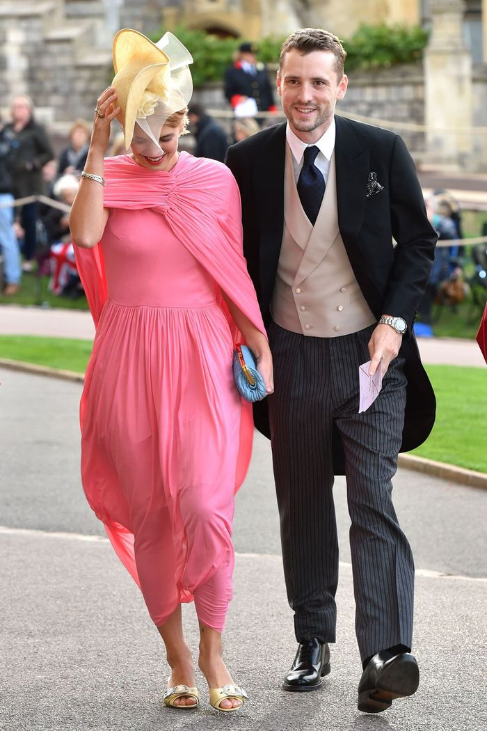 Pixie Gedolf di royal wedding Putri Eugenie
