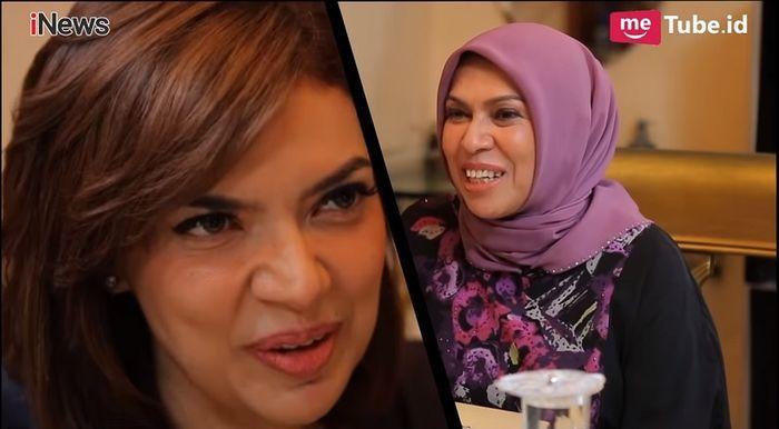 Najwa Shihab dan Ibu Kandungnya