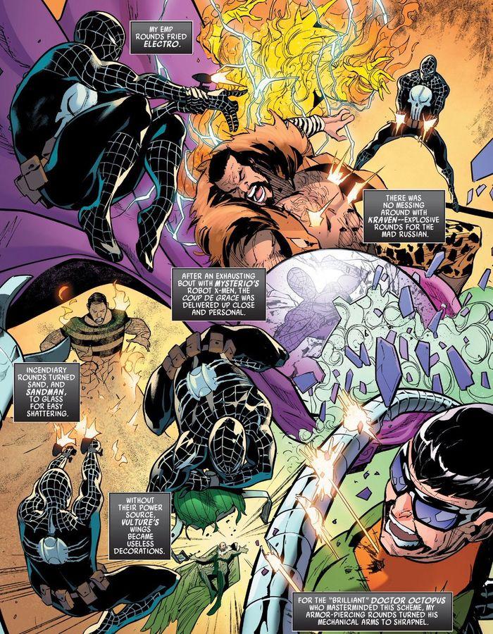Panel komik 'What If? Punisher' #1