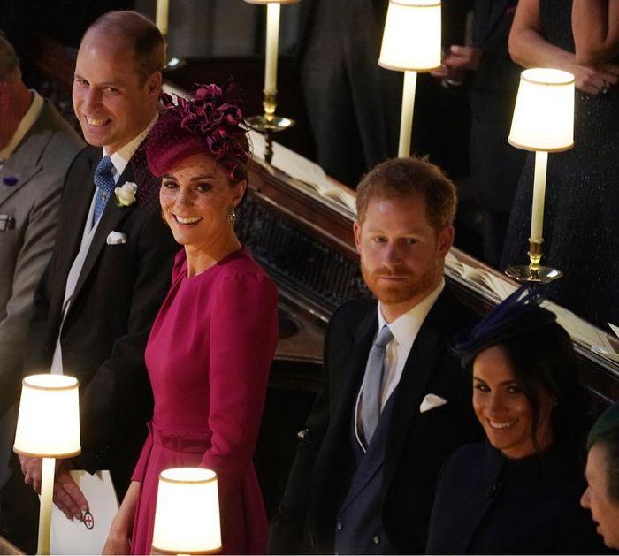 Pamgeran William, Pangeran Harry bersama pasangannya