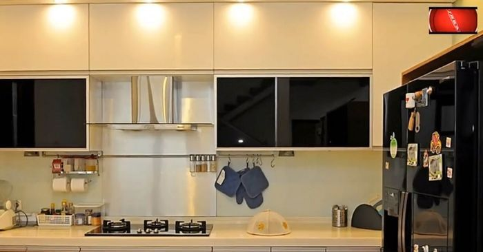 Interior dapur yang nyaman