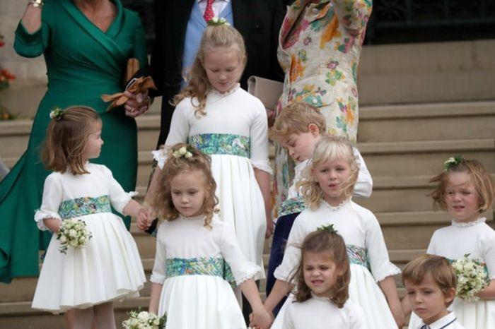 Putri Charlotte dan Pangeran George bareng para sepupunya