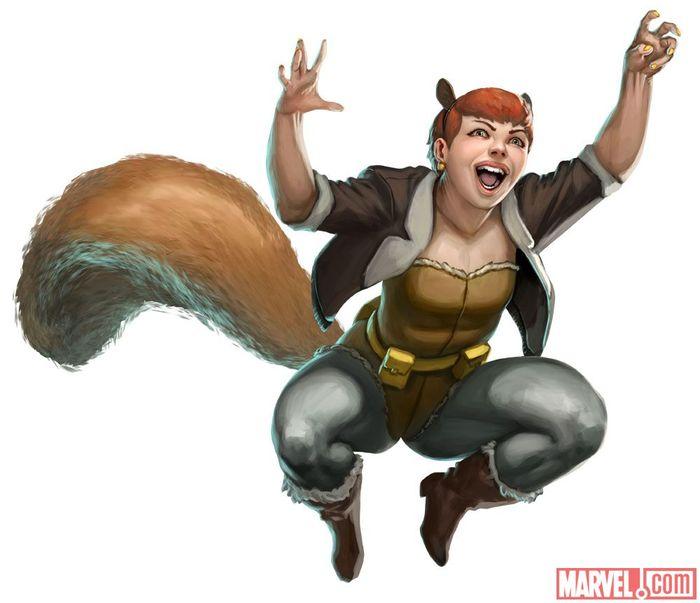 Squarrel Girl