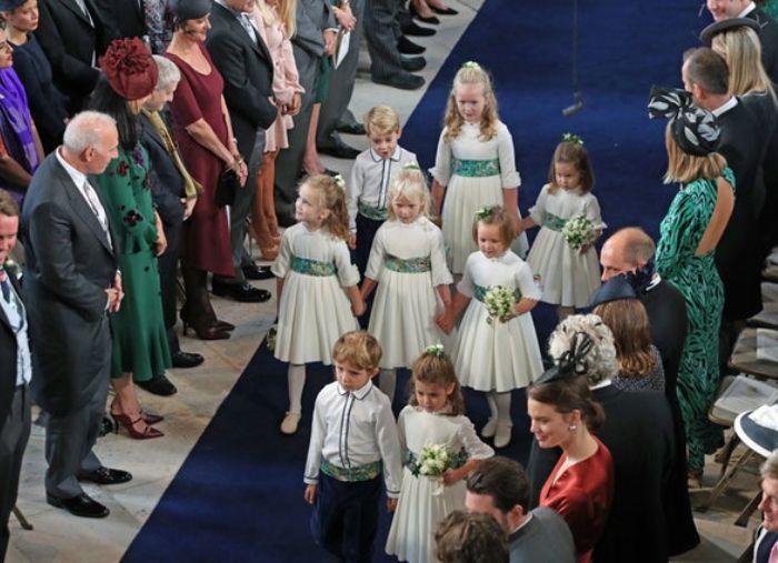 Di upacara pernikahan Putri Eugenie