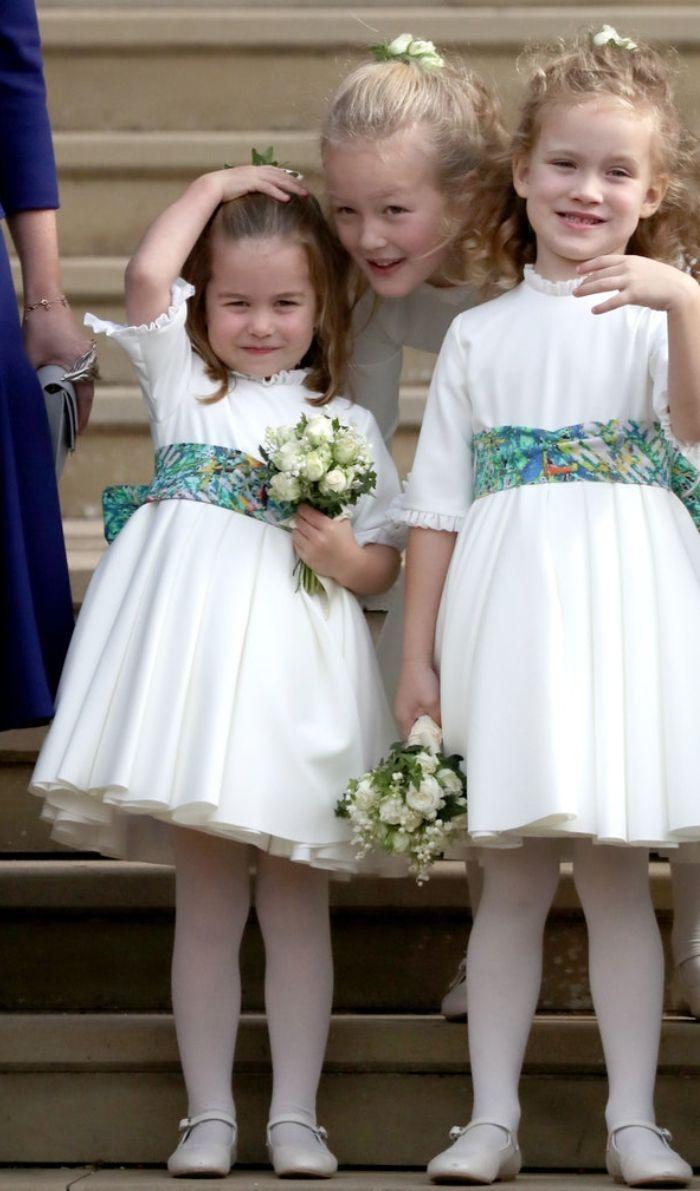 Savannah Phillips dan Putri Charlotte