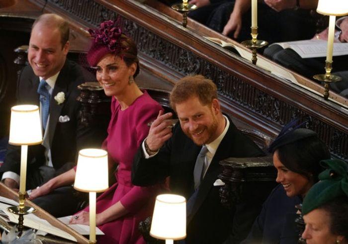 Pangeran Harry dan Meghan Markle tertawa bersama