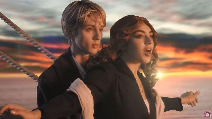 Charli XCX dan Troye Sivan tirukan adegan di film Titanic