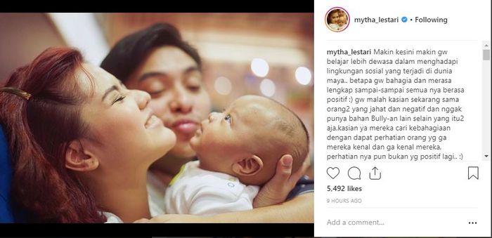 Mytha Lestari merasa kasihan dengan netizen