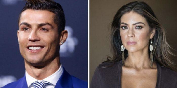 Kolase foto Cristiano Ronaldo (kiri) dan Kathryn Mayorga