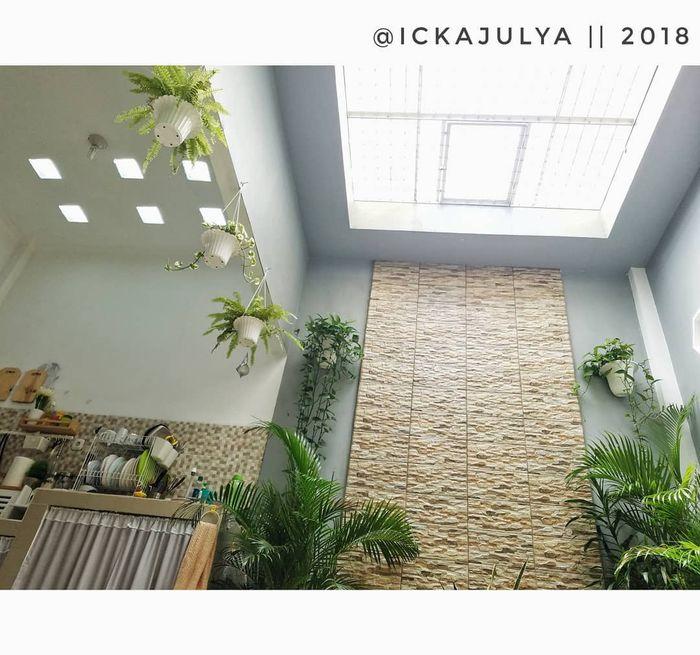 Inspirasi Desain Taman Indoor Ukuran 2.8m×3.2m Milik @ickajulya
