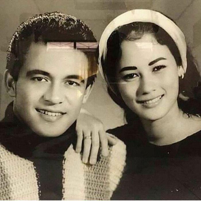 Potret cantik Suzanna di masa muda dengan sang mantan suami Dicky Suprapto