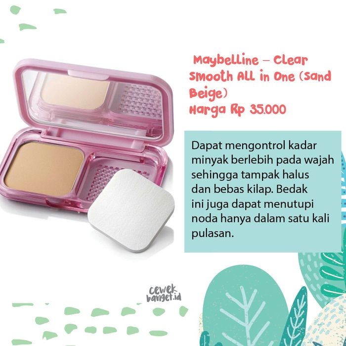 Maybelline – Clear Smooth All in One (Sand Beige)