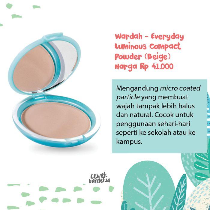 Wardah – Everyday Luminous Compact Powder (Beige)