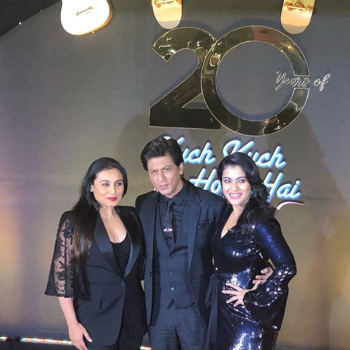 Penampilan pemain film Kuch Kuch Hota Hai sekarang, Shah Rukh Khan, Kajol dan Rani Mukerji