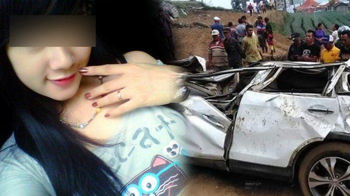 Rini Puspitawati, model cantik yang terlibat kecelakaan tragis dengan suami orang