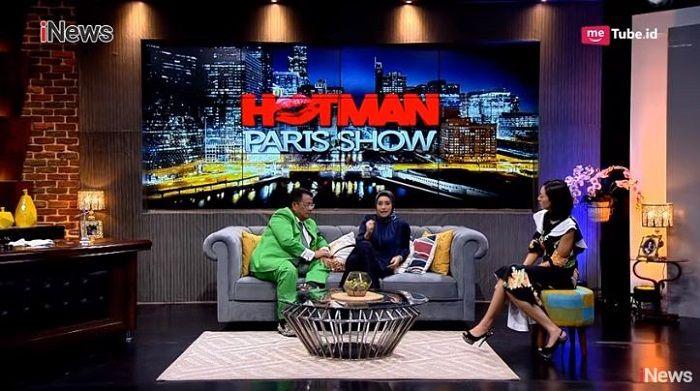 Shinta Bachir ceritakan kehidupan asmaranya di Hotman Paris Show