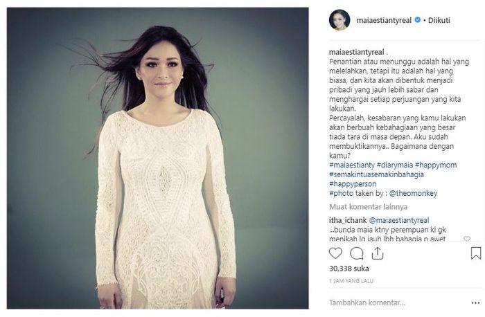 Unggahan Maia Estianty