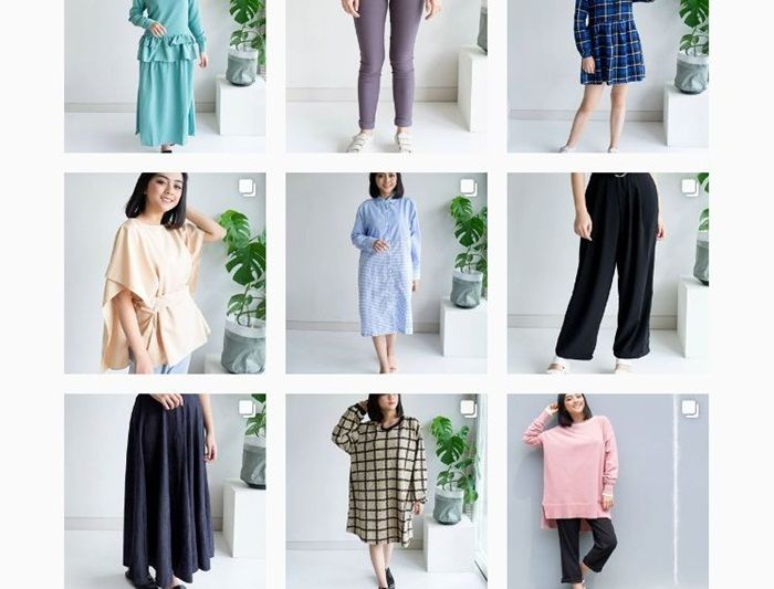 5 Online Shop Terkenal yang Jual Baju Murah dan Bagus di Instagram - Rubylicious