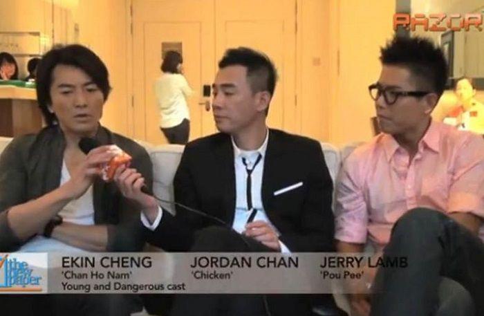 Wawancara dengan Jordan Chan.