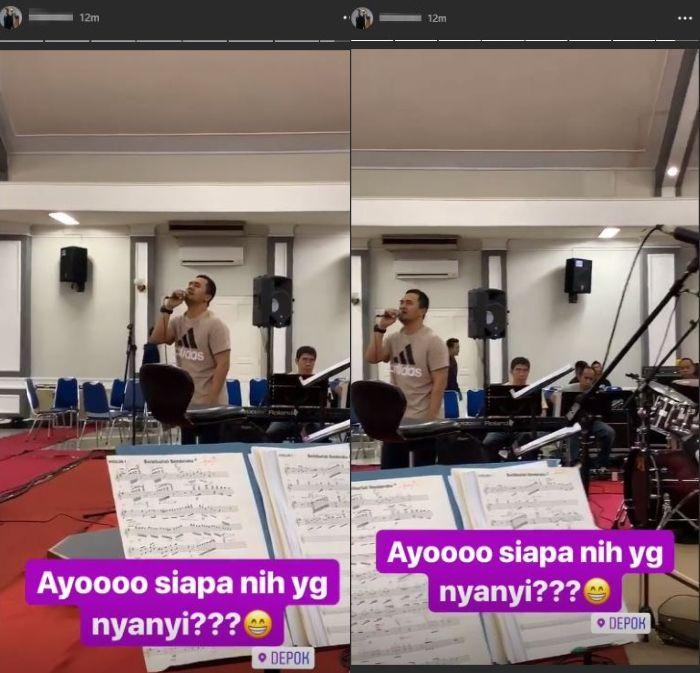 Sosok Saipul Jamil pada sebuah insta story yang diunggah oleh akun Instagram pemain harpa, Minggu (27/10/2018).